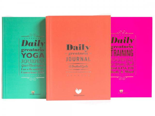 Mothers edit - daily greatness journal - training - yoga - womens health