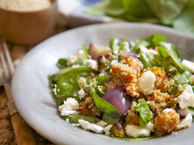 Patrick drake squash feta and quinoa salad