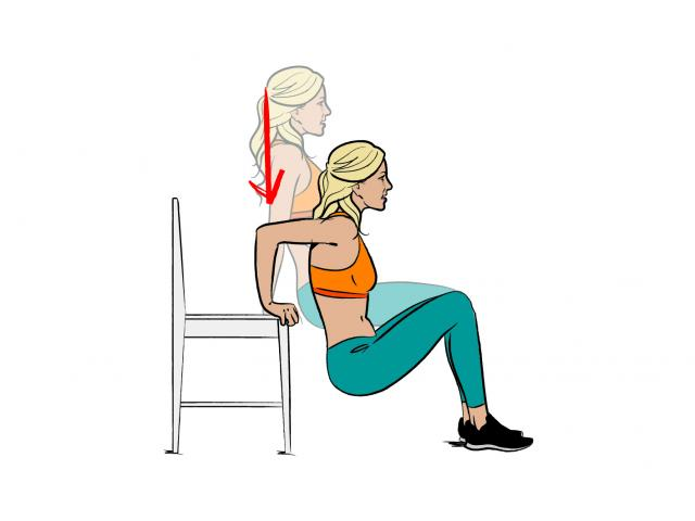 How To Do Tricep Dips Women S Health