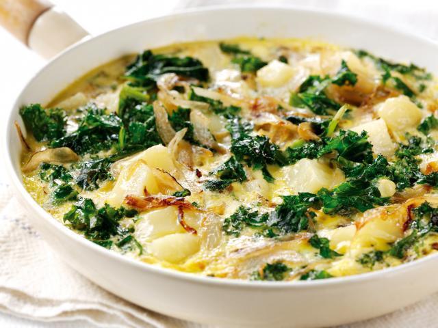 Kale omlette  medium 4x3