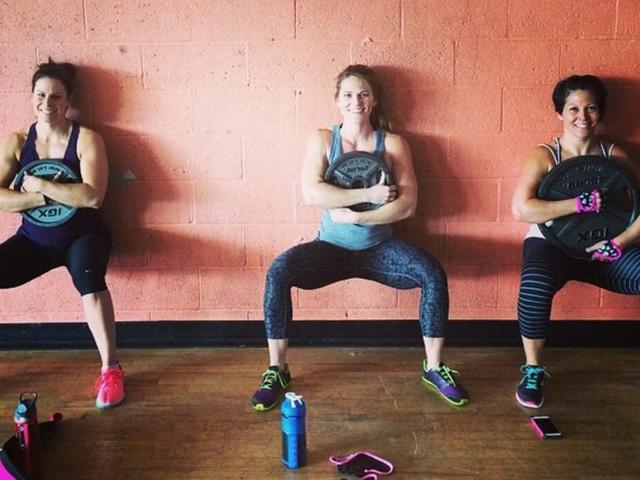 Workout wednesday - real women - instagram workouts - gym buddies - monicabeeman  medium 4x3