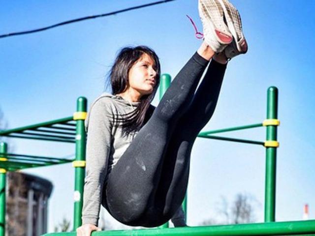 Women who workout - workout wednesday - calisthenics - iyaolegovna - instagram - womens health uk