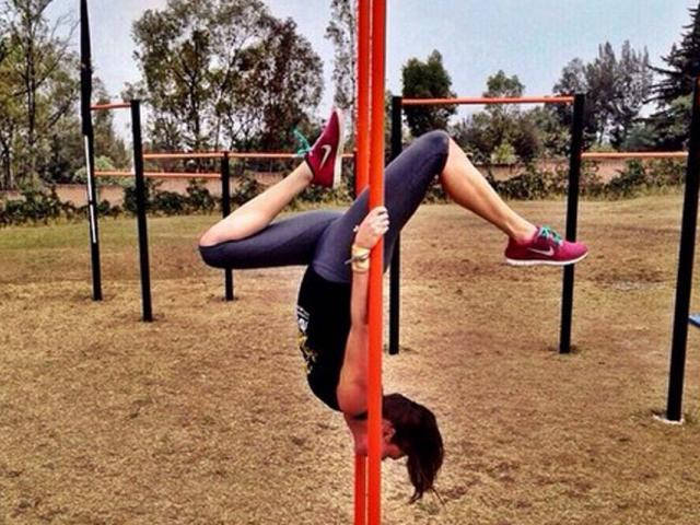Women who workout - workout wednesday - calisthenics - jacque barniacs - instagram - womens health uk