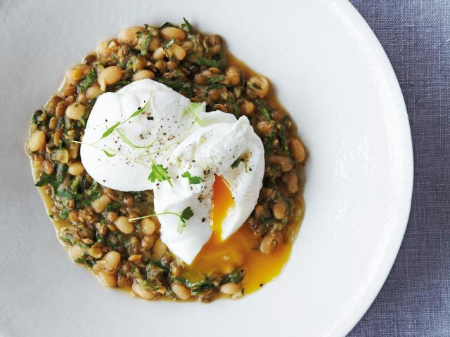 Ful medames with poached eggs  medium 4x3
