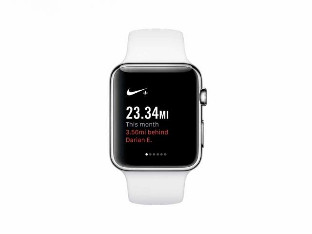 Nike running on apple watch native 1600