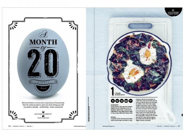 May issue 20 min meals page
