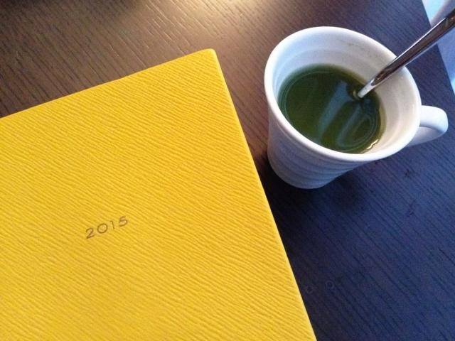 A trip in the life of a travelling yogi - leah kim - diary and matcha tea