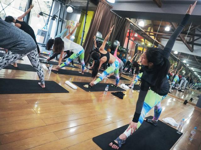 Diary of a travelling yogi - leah kim - nike tour - pic 1