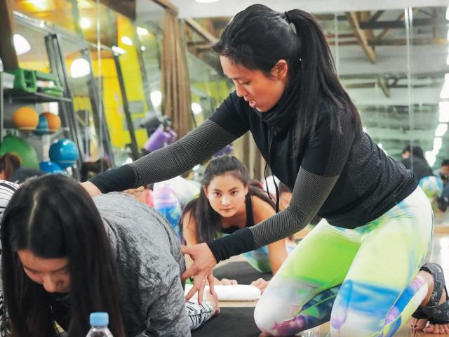 Diary of a travelling yogi - leah kim - nike tour - pic 2 - womens health uk