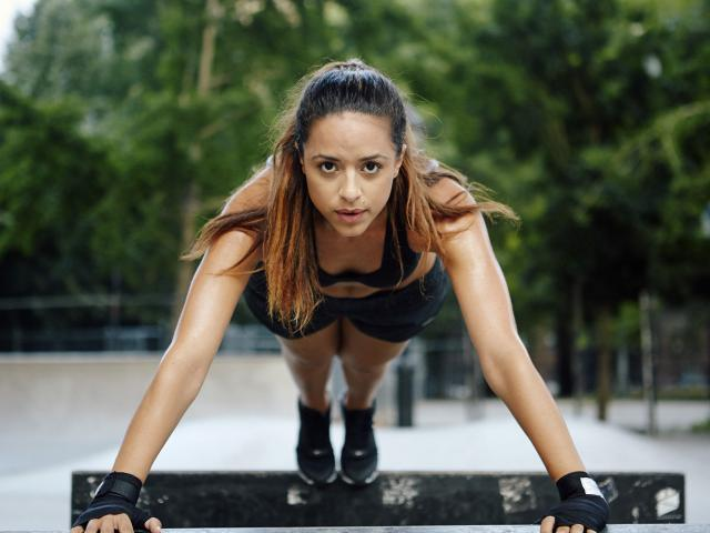 The plank workout - upgrade your plank - harder - exercises - womens health uk