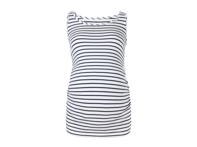 marks and spencer striped maternity vest