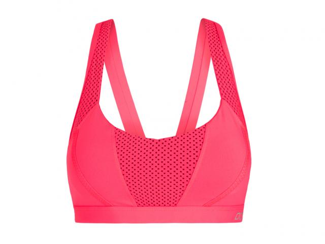 pink sports bra Lorna jane