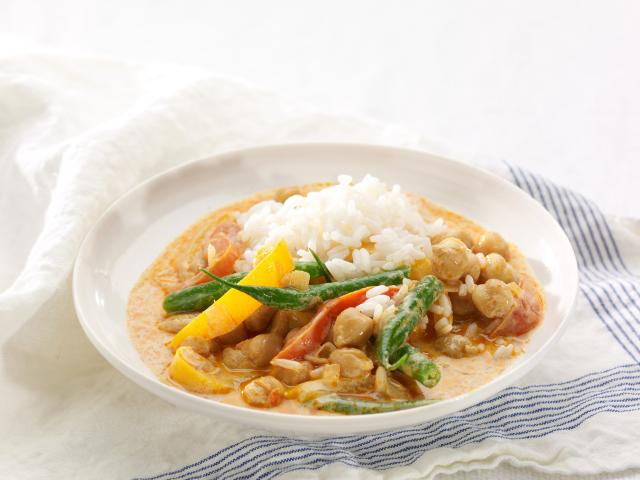 Thai red curry from chobani yoghurts