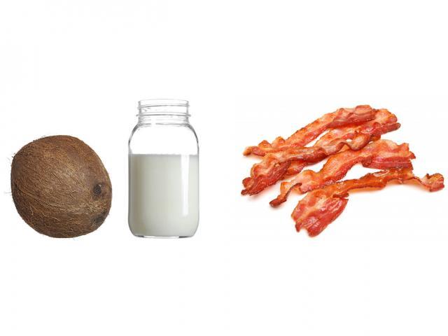 Fat in coconut oil - bacon - womens health uk