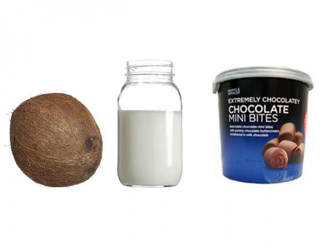 Fat in coconut oil - chocolate mini bites - womens health uk