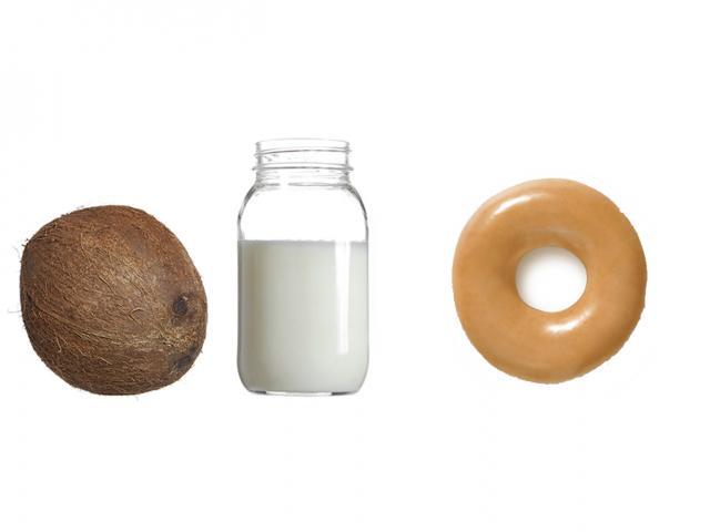 Fat in coconut oil - krispy kreme - womens health uk