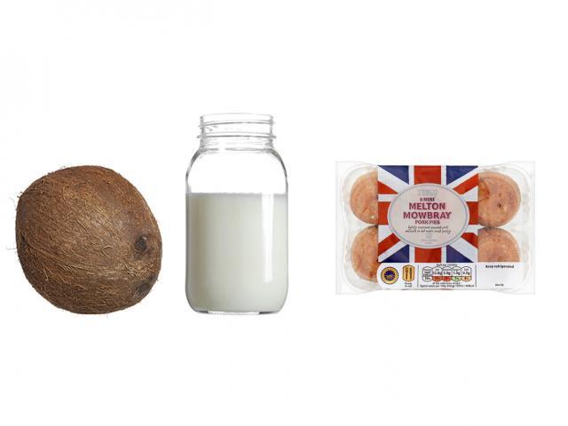Fat in coconut oil -mini pork pie - womens health uk