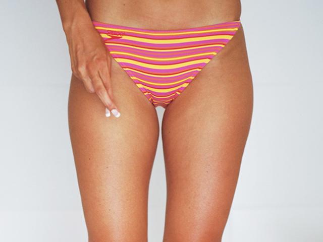 how to use bikini wax