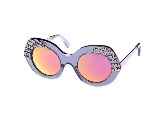 Cutler and gross purple leopard sunglasses