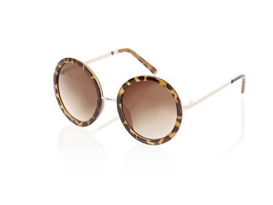 Round tortoise shell sunglasses Oasis
