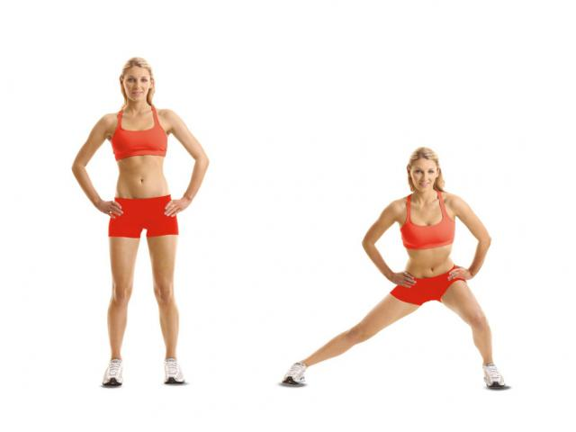 How To Do: A Lateral lunge - Women's Health
