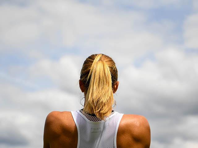 Petra martic tennis player at wimbledon 2017