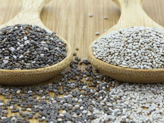 Chia seeds black