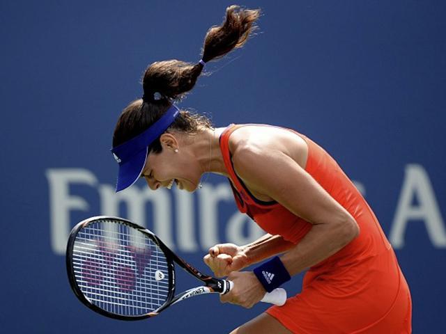 Ana ivanovic - gym hair