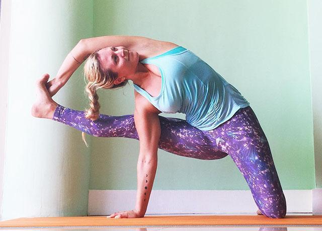 Yoga girl - hair style -womens health - hair