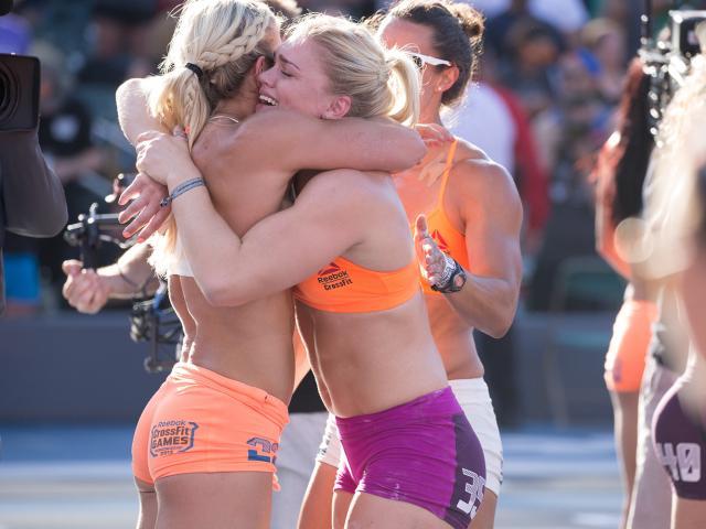 Reebokcrossfitgames2015 womensfinal brookeence katrinatanjadavidsdottir womenshealth