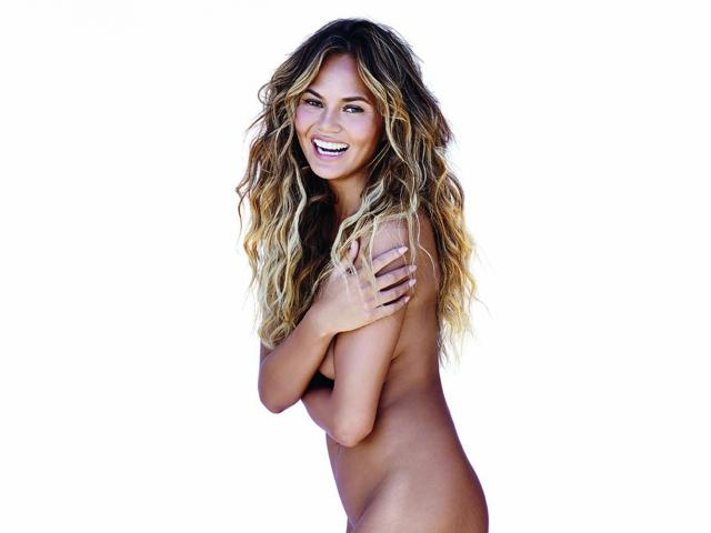 Chrissy Teigen Naked Cover Womens Health