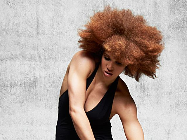 The Best Gym Hairstyles For Afro Hair Low Twisted Bun