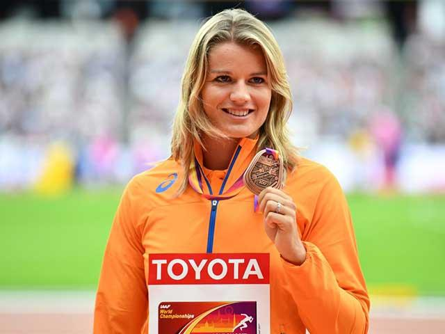 Dafne schippers - 200m - record - acne - womens health uk