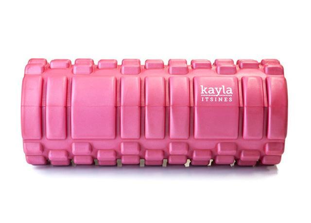 Kayla itsines - foam roller - womens health uk