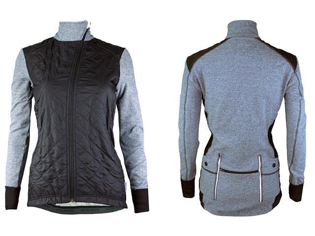 Heidi grey women cycling jacket womens health