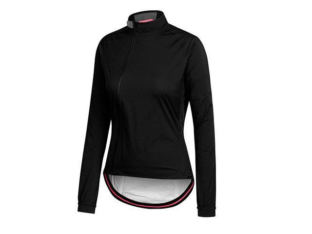 Rapha black cycling jacket womens health