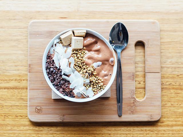 Organic porridge bowl