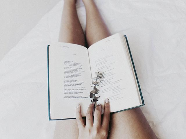 Reading book - happier - healthier - womens health uk