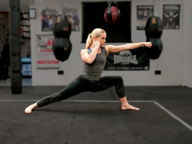 Alternative yoga - boxing yoga