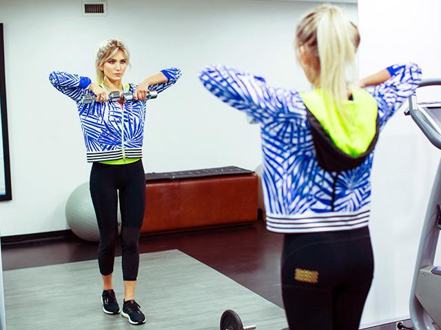 Faya Nilsson, Fitness On Toast, Neon Gym Kit, Trend Edit