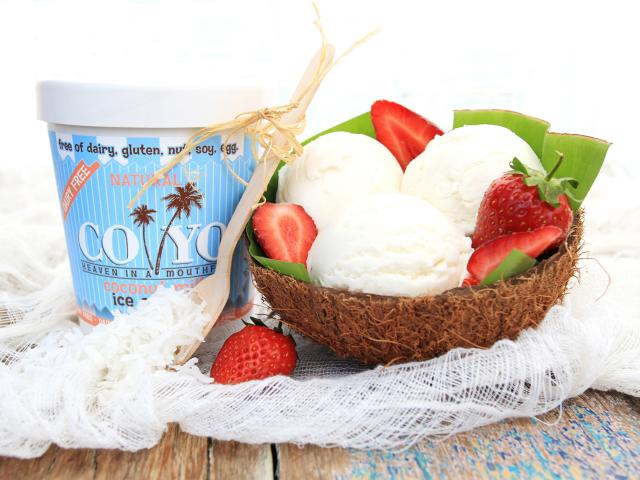 Coyo coconut ice cream