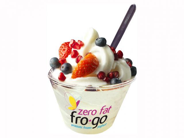 Itsu fro-go frozen yoghurt