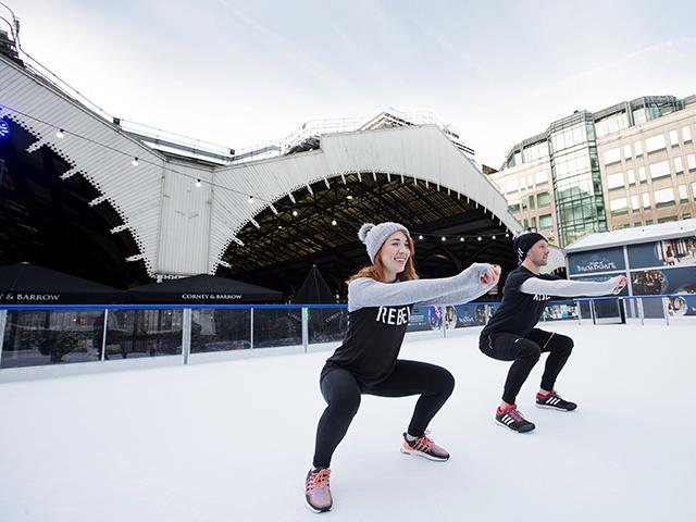 1rebel broadgate - hiit on ice - womens health uk