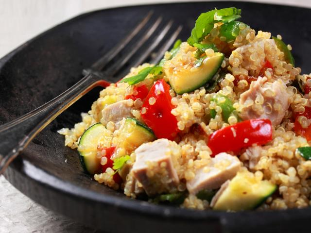 Patrick drake quick quinoa recipe