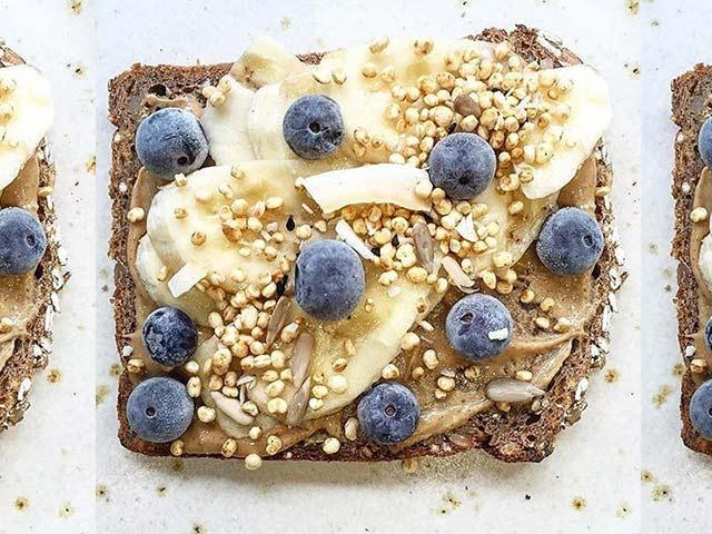 Detox Kitchen Pip and Nut Toast
