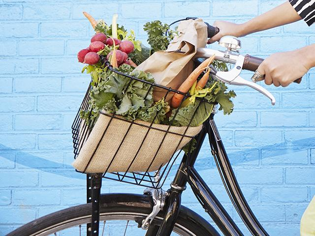 Healthy food - bike basket - womens health uk