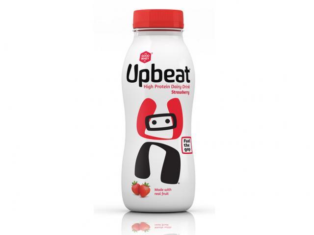 Good whey strawberry upbeat