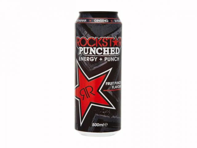 Rockstar punched energy drink