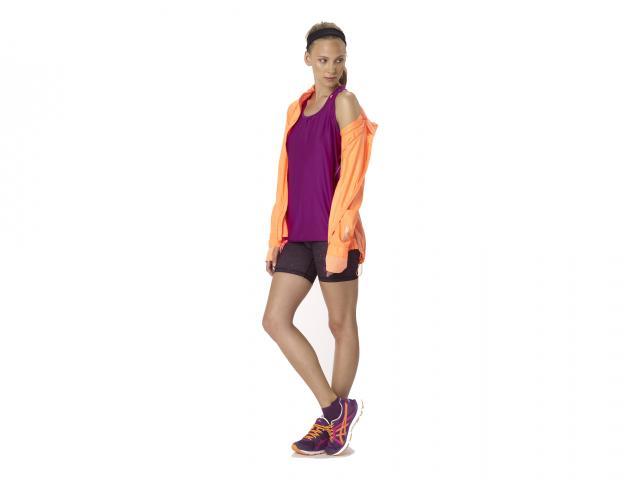 Sweaty betty aw13 flexovervest velocity jacket raceline galaxy run shorts