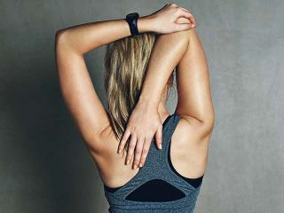 Woman-stretching-arm